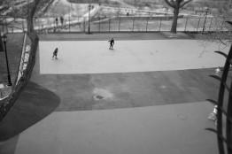 Skating in Park
